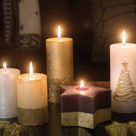 Kolekcja świec